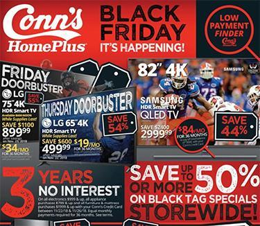 conns homeplus black friday ad