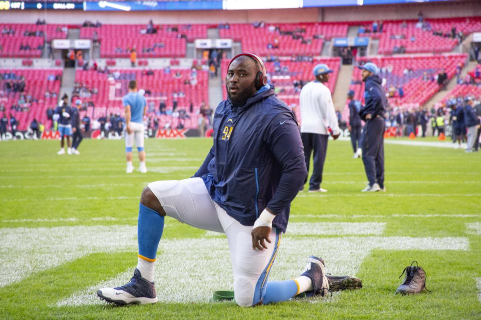 Oakland Raiders defensive lineman Corey Liuget accused trainer Ian Danney — who works with a number of professional athletes — of injecting him with a banned substance without his knowledge.