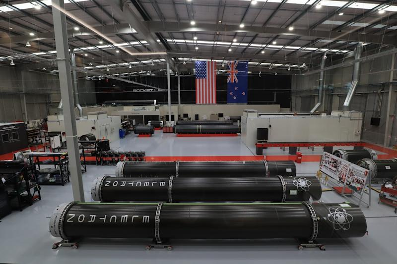 Rocket Lab production facilty
