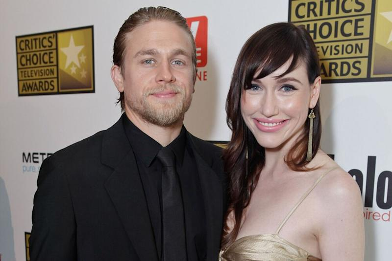 Charlie Hunnam and Morgana McNelis | Tiffany Rose/WireImage