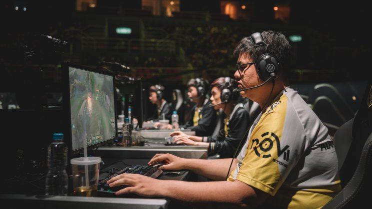 """GIGABYTE Marines support Trần """"Archie"""" Minh Nhựt (Riot Games/lolesports)"""