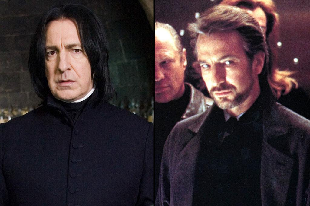 "Actor: <a href=""http://movies.yahoo.com/movie/contributor/1800021960"">Alan Rickman</a>  ""Harry Potter"" Role: Severus Snape    Rickman might not have earned any Oscar nominations (more proof that there's no justice in this world) but he has received two Tony nominations for his brilliant performances for ""Les Liaisons Dangereuses"" in 1987 and in Noel Coward's ""Private Lives"" in 2002. He also played one of the most awesomely evil villains in cinema: Hans Gruber, the German terrorist from ""<a href=""http://movies.yahoo.com/movie/1810124453/info"">Die Hard</a>."""