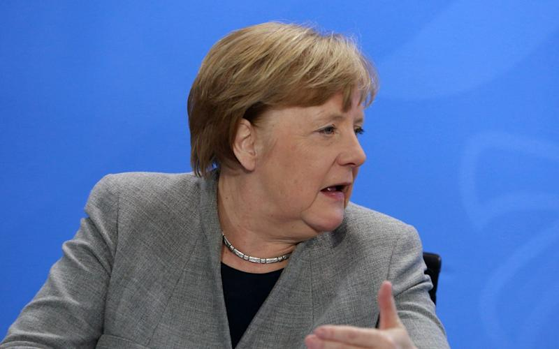 German Chancellor Angela Merkel informed Parliament that she has been the target of Russian hackers - CHRISTIAN MARQUARDT/POOL/EPA-EFE/Shutterstock/SHUTTERSTOCK
