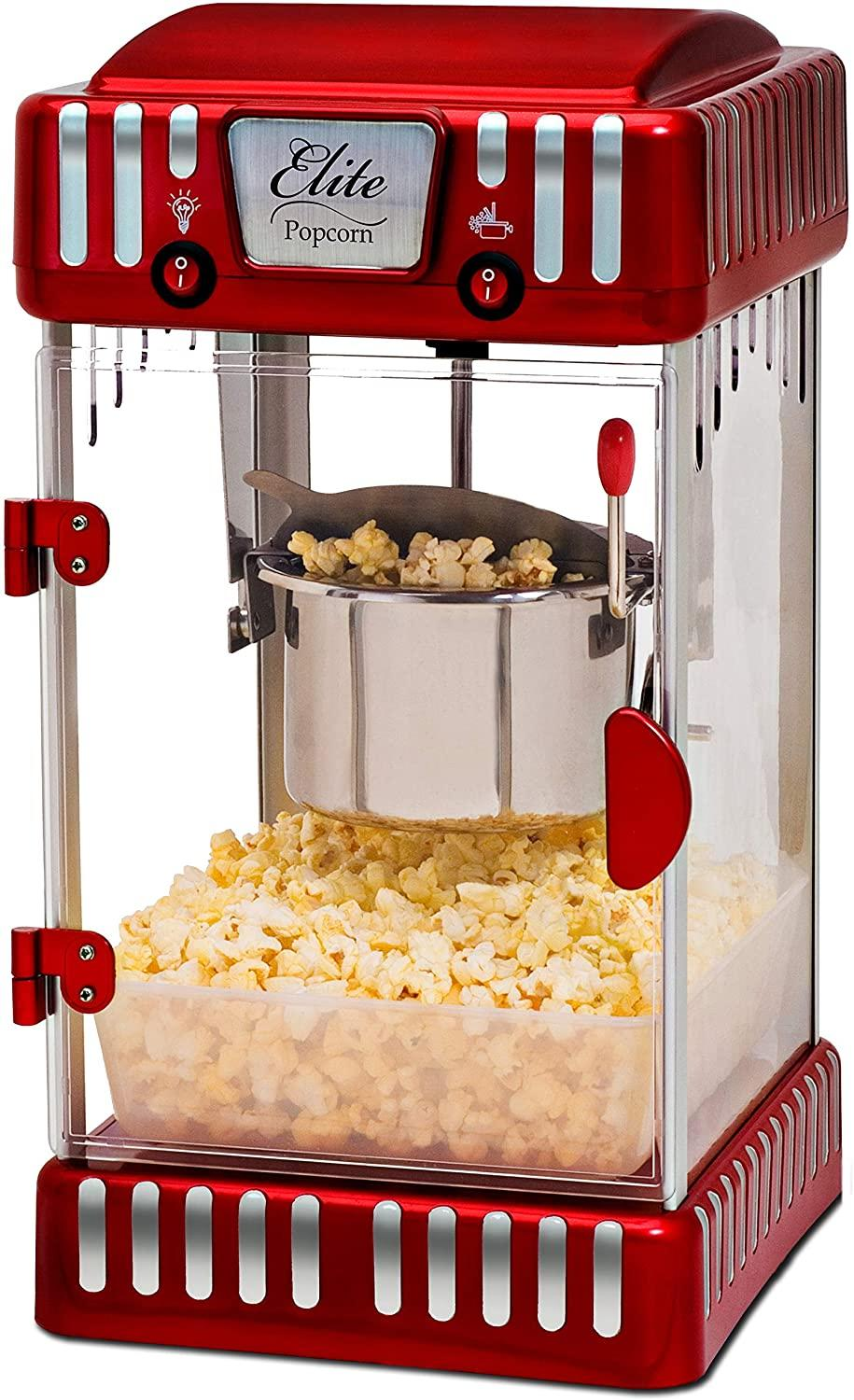 Maxi-Matic Retro Popcorn Machine (Photo via Amazon)