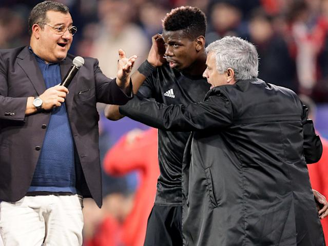 Talk to the hand: Pogba will only speak to his manager through his agent Raiola now it is claimed