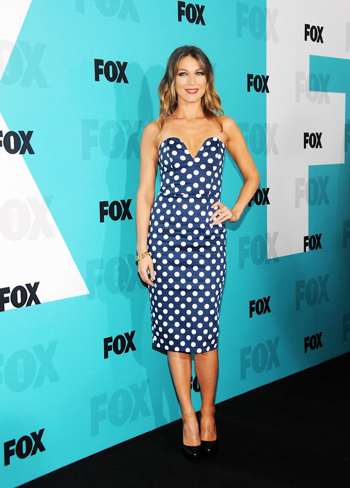 """Natalie Zea (""""The Following"""") attends the Fox 2012 Upfronts Post-Show Party on May 14, 2012 in New York City."""