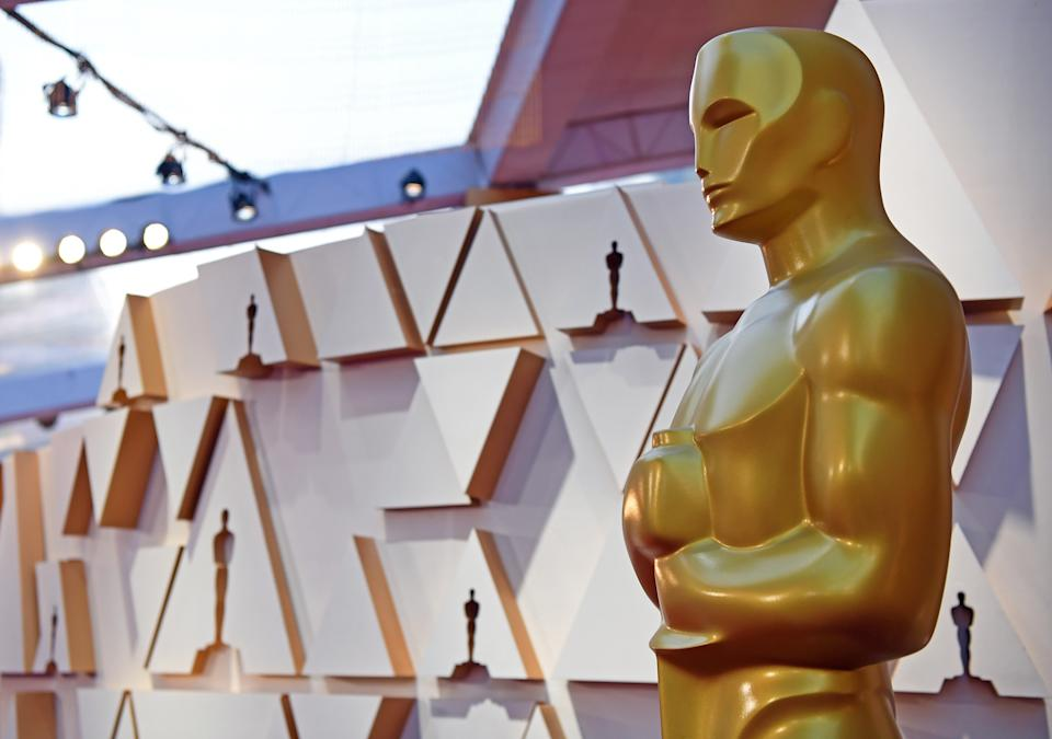 The Oscars broadcast live on Sunday, April 25. (Photo: Xinhua/Li Rui via Getty Images)