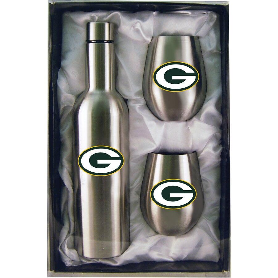 Packers Bottle & Tumblers Set