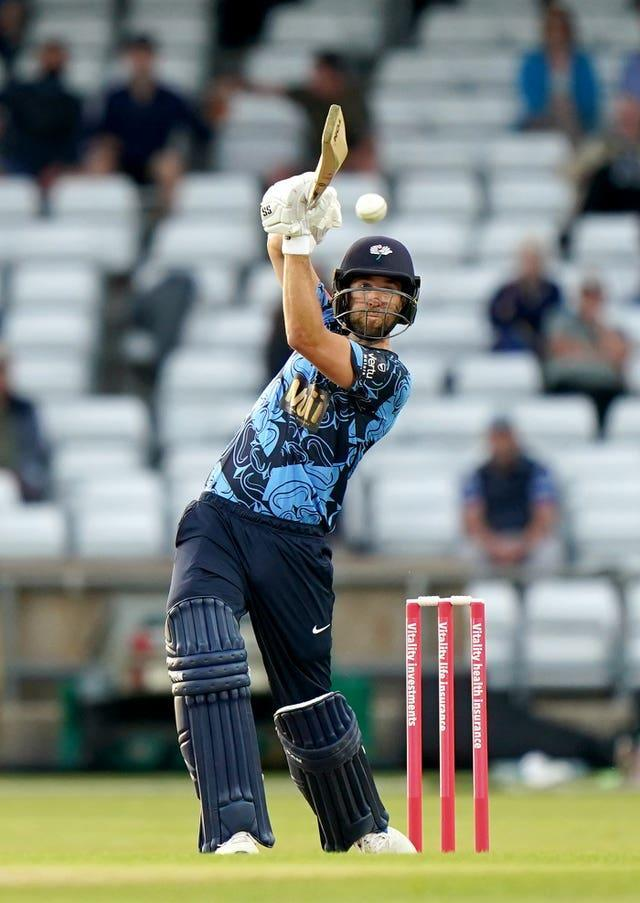 Dawid Malan in action for Yorkshire