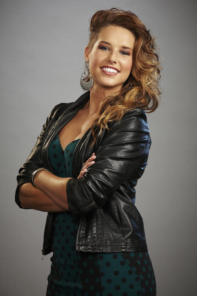 "Amy Whitcomb joins Team Adam on ""The Voice"" Season 4."