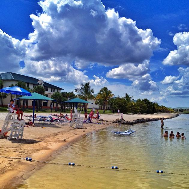 #Gorgeous day at #FGCU's #waterfront! #campusbeach #beach #university #sunshine #sun #clouds #blue #sky #florida #floridagulfcoastuniversity #water #beachlife #collegelife #lake #northlake #nlv #northlakevillage
