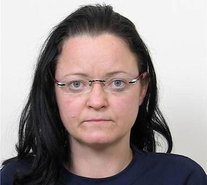 FILE - The undated photo  provided by German federal criminal investigation office BKA  in Dec. 2011, shows terror suspect Beate Zschaepe after her arrest. The sole survivor of a neo-Nazi group _ the self-styled National Socialist Underground _ blamed for ten killings goes on trial Monday, May 6, 2013 in Munich, along with four men alleged to have helped the killers in various ways. Beate Zschaepe, 38, is charged with complicity in the murder of eight Turks, a Greek and a policewoman. She is also accused of involvement in at least two bombings and 15 bank robberies carried out by her accomplices Uwe Mundlos and Uwe Boenhardt, who died in an apparent murder-suicide two years ago.   (AP Photo/BKA)EARLY RISER FOR FRIDAY MAY 3 2013 -