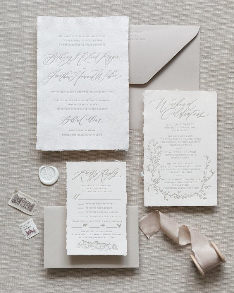 Which Elements of Our Wedding Should We Really Hire a Calligrapher For?