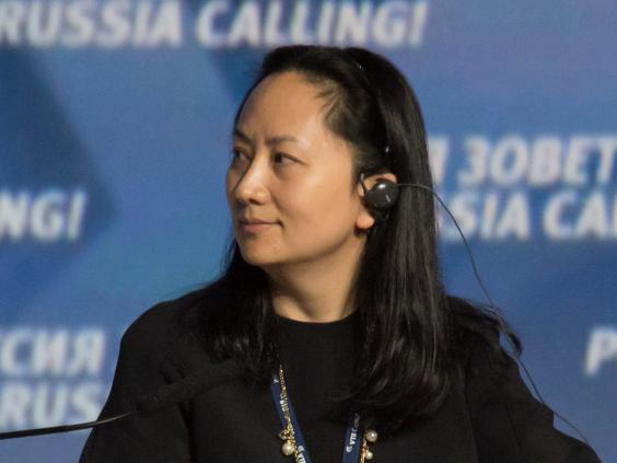 Meng Wanzhou, chief financial officer at Chinese technology giant Huawei, was arrested on suspicion of fraud charges (Reuters)