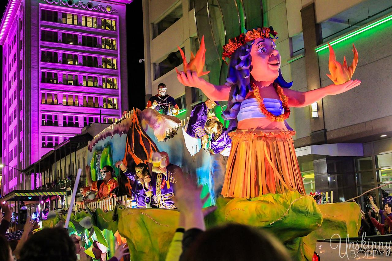 "<p><strong>When</strong>: Feb. 7-25, 2020</p> <p>Sorry, New Orleans. This port city along Alabama's Gulf Coast is said to be the birthplace of Mardi Gras in the United States. The story goes that the first <a href=""https://www.mobile.org/events/mardi-gras/"" target=""_blank"" class=""ga-track"" data-ga-category=""Related"" data-ga-label=""https://www.mobile.org/events/mardi-gras/"" data-ga-action=""In-Line Links"">Mardi Gras celebration</a> happened in 1703, but then a man named Joe Cain got it going on again after the Civil War by putting on a spur-of-the-moment street parade. Since then, Mobile's Mardi Gras has grown to encompass a festive scene that's also family-friendly. Beginning two and a half weeks before Fat Tuesday, the busy schedule includes a ton of grand parades led by various organizations. And of course, Joe Cain gets his due; Sunday is known as Joe Cain Day, and he gets his own procession!</p>"