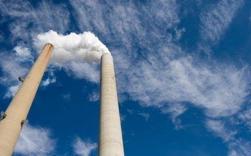 The smoke stacks at American Electric Power's Mountaineer coal power plant in New Haven, West Virginia. The World Bank has warned that global temperatures could rise by four degrees this century without immediate action, with potentially devastating consequences for coastal cities and the poor