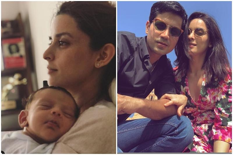 Sumeet Vyas and Ekta Kaul Share First Picture of Their Baby Son Ved