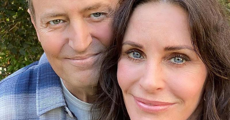 Courteney Cox Shares Rare Photo of Matthew Perry as the Friends Stars Reunite