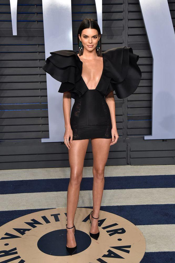 Kendall Jenners Little Black Dress Is Unlike Any Other Lbd Youve