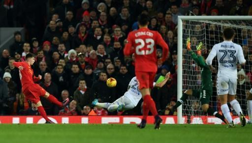 Woodburn makes history as Liverpool move into League Cup semis