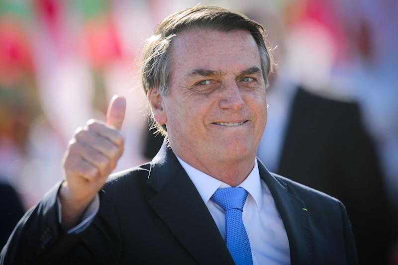 Bolsonaro Approval Steadies on Brazil Economy Upturn, Poll Shows