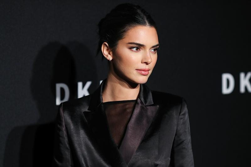 BROOKLYN, NEW YORK CITY, NEW YORK, USA - SEPTEMBER 09: Kendall Jenner arrives at the DKNY 30th Birthday Party Celebration held at St. Ann's Warehouse on September 9, 2019 in Brooklyn, New York City, New York, United States. (Photo by Xavier Collin/Image Press Agency/Sipa USA)