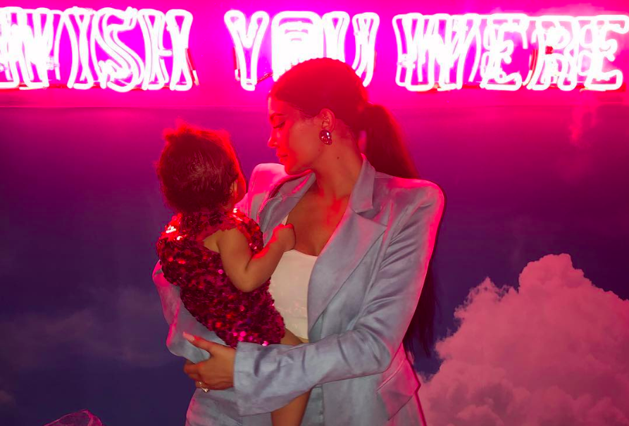 """Kylie Jenner said she went """"all out"""" for her daughter Stormi's first birthday — and she did. (Photo: Kylie Jenner via Instagram)"""