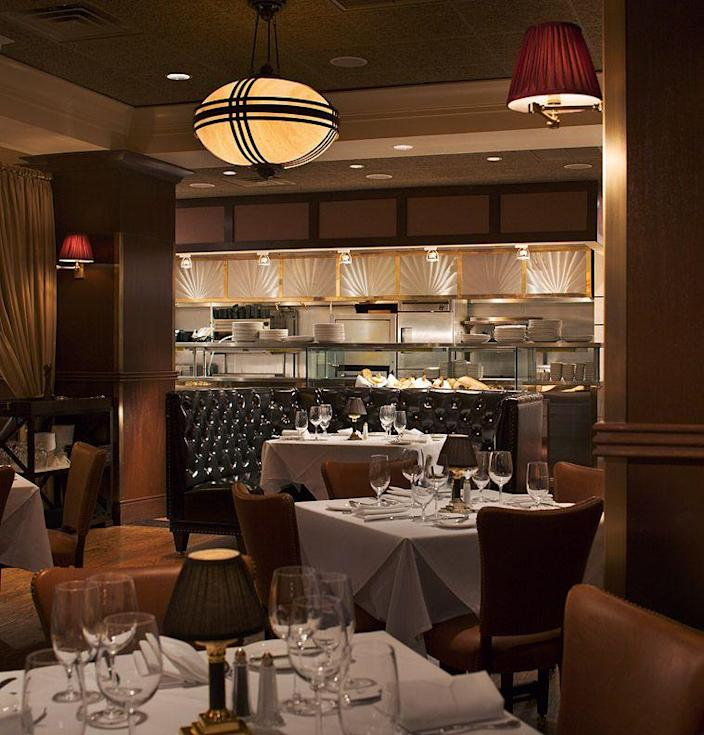 """<p><strong>Manchester, New Hampshire</strong></p><p><strong><a href=""""https://hanoverstreetchophouse.com/"""" rel=""""nofollow noopener"""" target=""""_blank"""" data-ylk=""""slk:Hanover Street Chophouse"""" class=""""link rapid-noclick-resp"""">Hanover Street Chophouse</a></strong> wants you to have a classic, non-stuffy dinner date. They have all your go-to dishes, but with a modern twist (avocado fries, anyone?). Every Friday and Saturday, sit back and relax as you enjoy local musicians perform on the piano. </p>"""