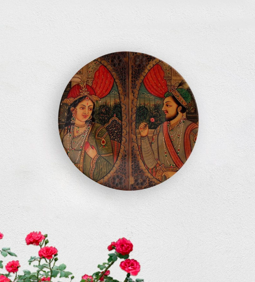 "A reminder of great romances and a rich architectural heritage, the 8-inch, ceramic <a href=""https://fave.co/2OwrRZ7"" rel=""nofollow noopener"" target=""_blank"" data-ylk=""slk:Mughal Love wall plate by Quirk India"" class=""link rapid-noclick-resp""><strong>Mughal Love wall plate by Quirk India</strong></a>. <em>Rs.749 on offer. </em><a href=""https://fave.co/2OwrRZ7"" rel=""nofollow noopener"" target=""_blank"" data-ylk=""slk:Flash sale!"" class=""link rapid-noclick-resp""><strong>Flash sale!</strong></a>"