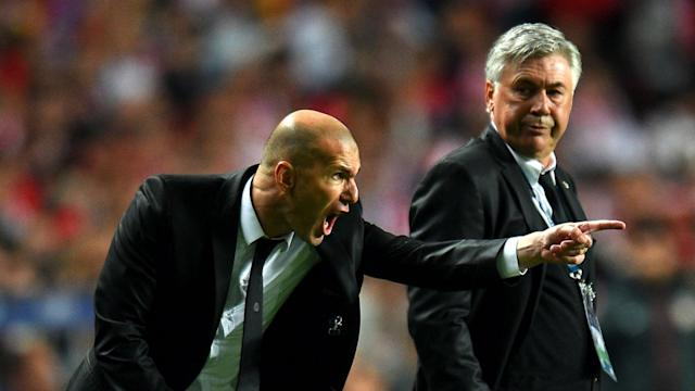 Carlo Ancelotti and Zinedine Zidane remain firm friends from their days together at Real Madrid but must become Champions League enemies.