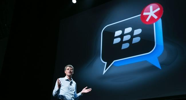 Heins: BlackBerry could license BB10, has to be 'successful' first