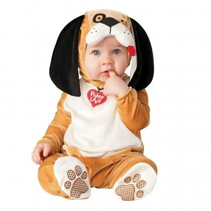 """<div class=""""caption-credit""""> Photo by: Rakuten.com</div><div class=""""caption-title"""">Puppy Love</div>Who wouldn't fall in love with this <a rel=""""nofollow"""" href=""""http://www.rakuten.com/prod/puppy-love-halloween-costume-size-18-months-2t/221692738.html"""" target=""""_blank"""">floppy-eared little doggie</a>? Sizes: 6 months to 2T Price: $26.99 - $33.94"""
