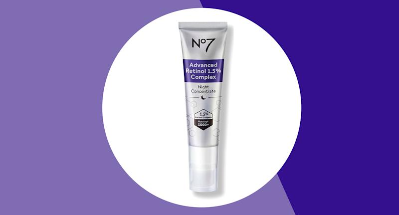No7's Advanced Retinol Night Serum is on offer in Boots - but for a limited time only. (Boots/ Yahoo Style UK)