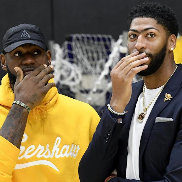 Better Than Bosh, Wade, Kyrie, Love? Can AD Be LeBron James' Best Teammate Ever?