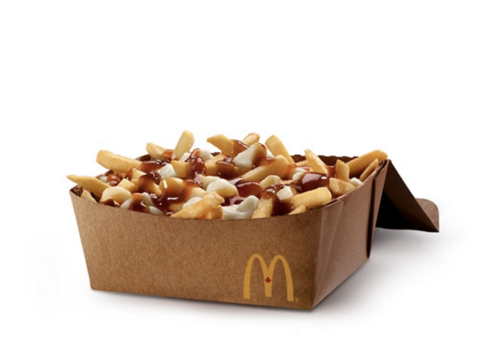 <p>You like a little poutine, eh? McDonald's dipped its hands into the Canadian classic, offering up a fantastic box of fries topped with cheese curds and gravy. YUM. </p>