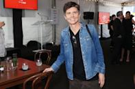 <p>Tig Notaro finds a seat at the Tribeca Festival Welcome Lunch at Pier 76 on June 9 in N.Y.C.</p>