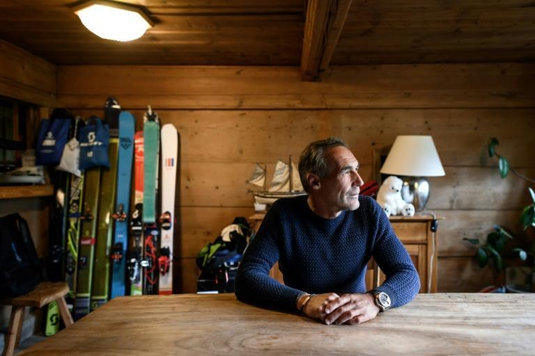 Adventurer Mike Horn is stuck at home in his chalet in Chateau-d'Oex in Switzerland while the coronavirus lockdown plays out