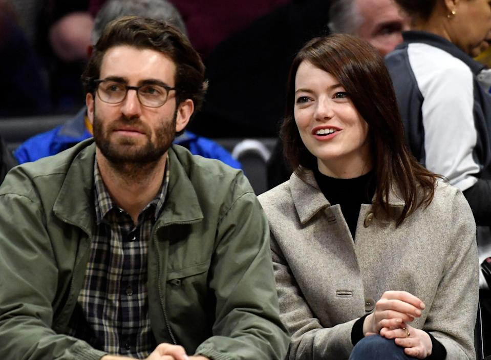 """Emma Stone has reportedly married her boyfriend of three years, Dave McCary. <a href=""""https://pagesix.com/2020/09/23/emma-stone-and-dave-mccary-are-married/"""" rel=""""nofollow noopener"""" target=""""_blank"""" data-ylk=""""slk:According to Page Six"""" class=""""link rapid-noclick-resp"""">According to Page Six</a>, the couple, who met when Stone hosted <em>SNL</em> in 2016, have been spotted wearing matching wedding bands. A source told the publication that Stone and McCary had, in fact, recently tied the knot after originally <a href=""""https://www.glamour.com/gallery/coronavirus-all-the-celebrities-that-had-to-postpone-their-wedding-due-to-the-pandemic?mbid=synd_yahoo_rss"""" rel=""""nofollow noopener"""" target=""""_blank"""" data-ylk=""""slk:postponing their March nuptials"""" class=""""link rapid-noclick-resp"""">postponing their March nuptials</a> due to the <a href=""""https://www.glamour.com/about/coronavirus?mbid=synd_yahoo_rss"""" rel=""""nofollow noopener"""" target=""""_blank"""" data-ylk=""""slk:coronavirus pandemic"""" class=""""link rapid-noclick-resp"""">coronavirus pandemic</a>."""
