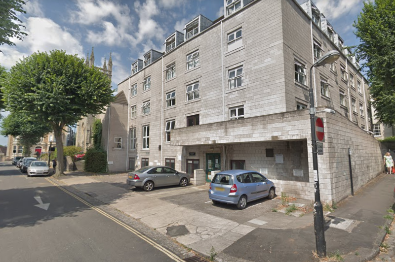 The man was arrested at a flat in Tyndale Court, Imperial Road, in Clifton (Google)
