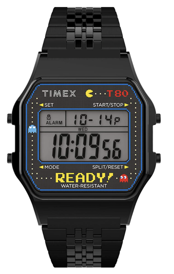 pac man watch timex