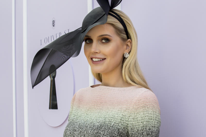 MELBOURNE, AUSTRALIA - NOVEMBER 05: Kitty Spencer attends Melbourne Cup Day at Flemington Racecourse on November 05, 2019 in Melbourne, Australia. (Photo by Sam Tabone/WireImage)