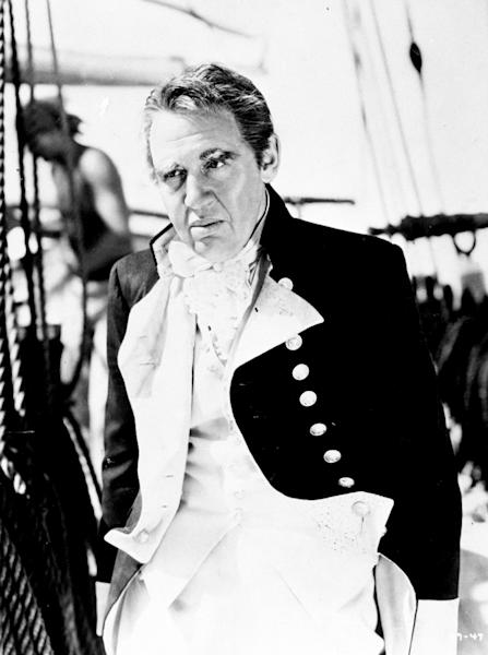 Charles Laughton in Mutiny On The Bounty (PA)