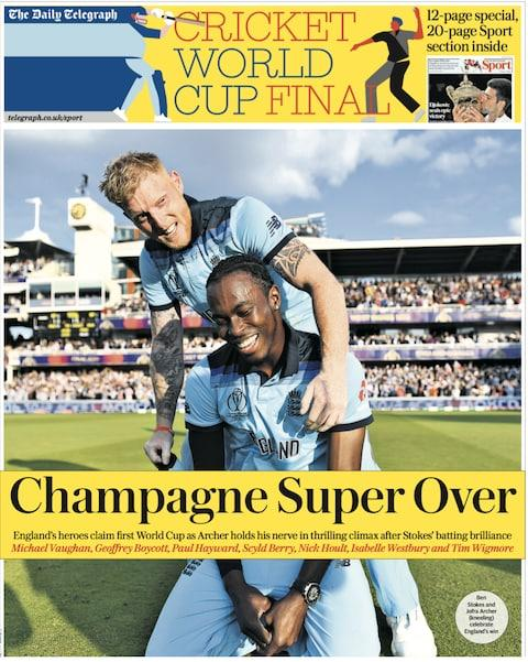 """Champagne Super Over"""