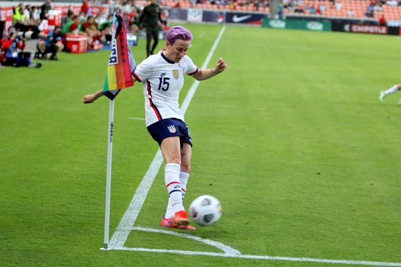 FILE PHOTO: Soccer: U.S. Women's National Team Summer Series-USA at Portugal
