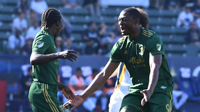 The 26-year-old Nigerian stood out for the Timbers at the Toyota Stadium on his return from suspension