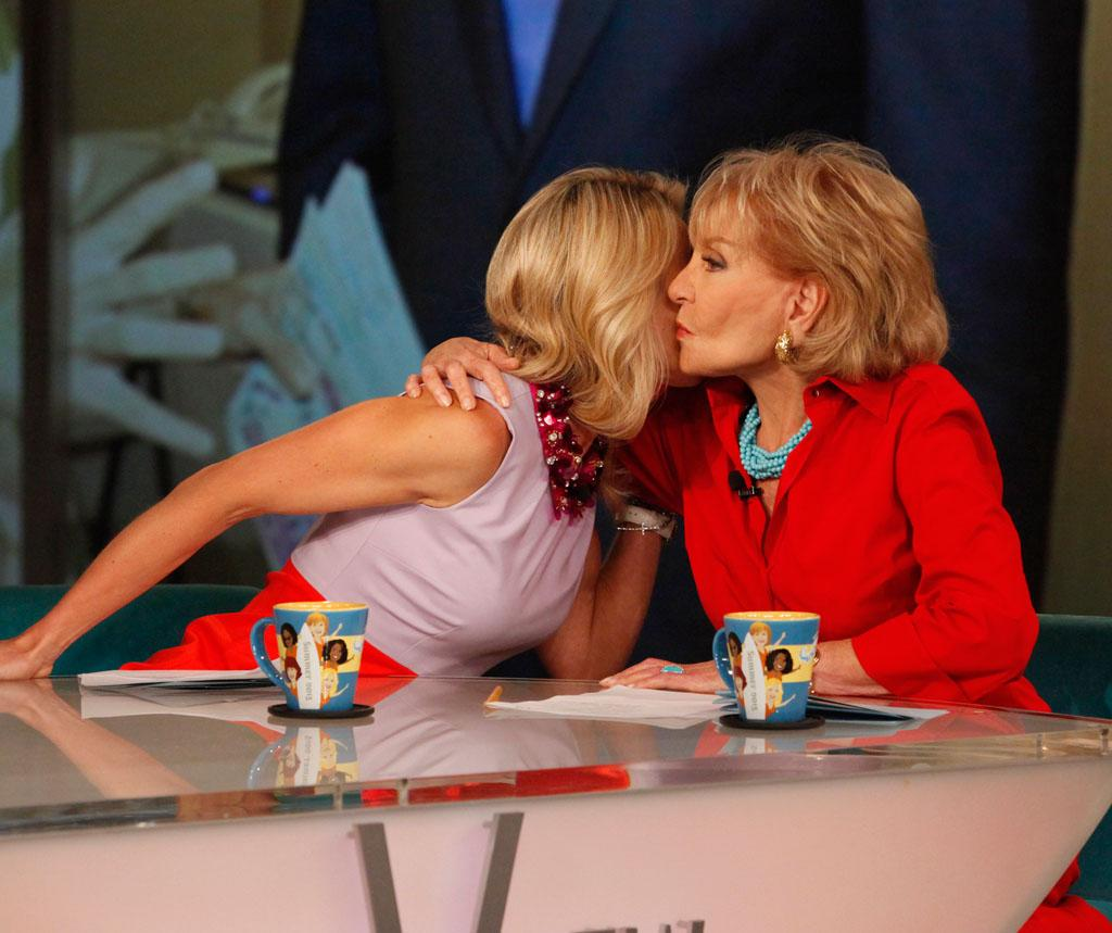"""After ten years as co-host, Elisabeth Hasselbeck announced today, July 10, 2013, that she will be leaving """"The View."""""""