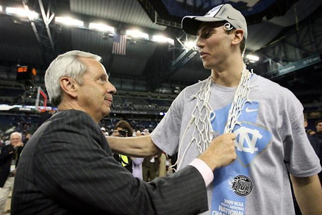 Tyler Hansbrough was a part of three great teams at North Carolina. Two of them rank above this year's team. (Getty)