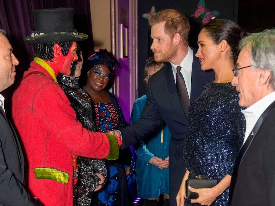 Harry and Meghan royal albert hall