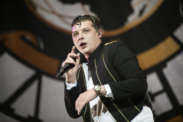 John Newman performs at The SSE Hydro (Redferns)