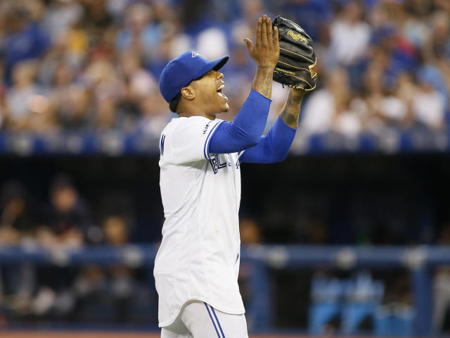 Pitcher Marcus Stroman was traded Sunday to the New York Mets. (USA TODAY Sports)